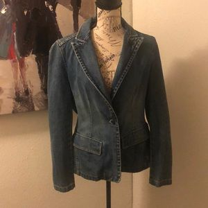 Adorable jean jacket size large from the GAP